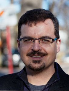 Green Party of Manitoba candidate in Wolseley, David Nickarz. Photo: Paul S. Graham